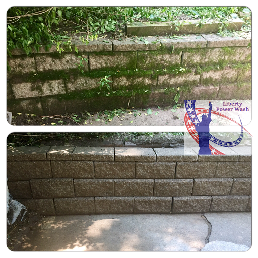 retaining wall cleaning kentucky