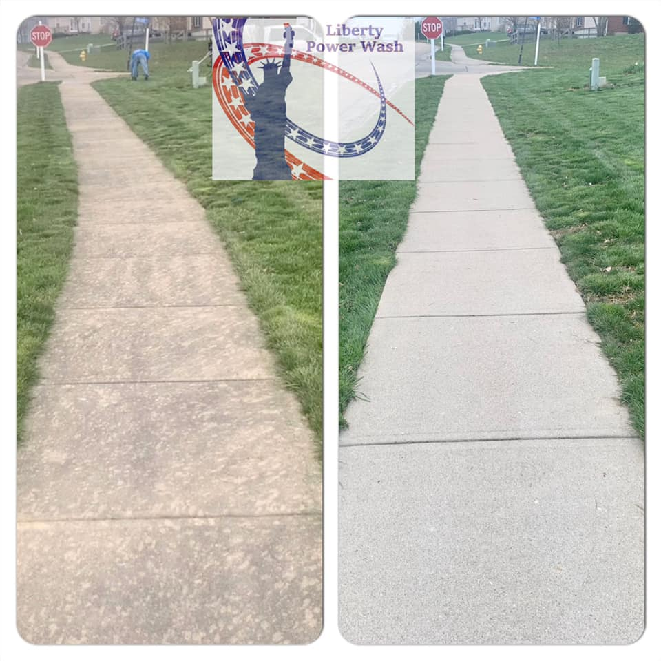 sidewalk cleaning in Kentucky